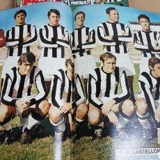 Coleccionismo deportivo: POSTER REAL CLUB CASTELLON 71-72. Lote 185983413