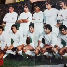 Coleccionismo deportivo: POSTER REAL MADRID 1973. Lote 185983545
