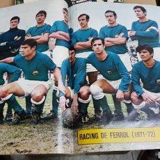 Coleccionismo deportivo: POSTER RACING DE FERROL 71-72. Lote 185983685