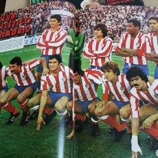 Coleccionismo deportivo: POSTER ATLÉTICO DE MADRID 1979. Lote 185983732