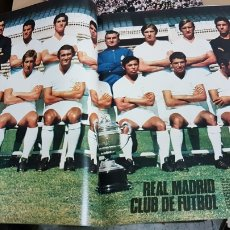 Coleccionismo deportivo: POSTER REAL MADRID 1970. Lote 185983902