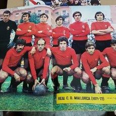 Coleccionismo deportivo: POSTER REAL CLUB DEPORTIVO MALLORCA 71-72. Lote 185983998