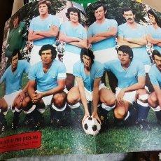 Coleccionismo deportivo: POSTER CELTA DE VIGO 75-76. Lote 185984501