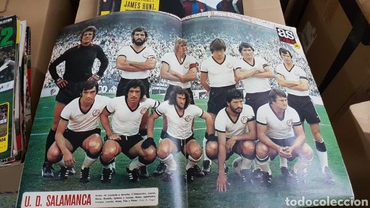 REVISTA AS POSTER UNION DEPORTIVA SALAMANCA 1976 (Coleccionismo Deportivo - Carteles de Fútbol)