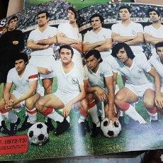 Coleccionismo deportivo: POSTER SEVILLA CLUB DE FUTBOL 72-73. Lote 185985031