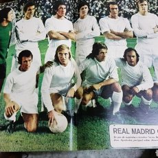 Coleccionismo deportivo: POSTER REAL MADRID 73-74. Lote 185985135