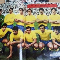Coleccionismo deportivo: REVISTA AS POSTER UNION DEPORTIVA LAS PALMAS 72-73. Lote 185986223