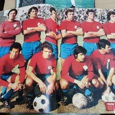 Coleccionismo deportivo: REVISTA AS POSTER UNION DEPORTIVA SALAMANCA 73-74. Lote 185986332