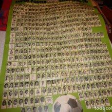Coleccionismo deportivo: (LLL)SUPER POSTER LA ACTUALIDAD ESPAÑOLA(110 CM X 77 CM)TODOS JUGADORES LIGA 1975-76. Lote 187221261