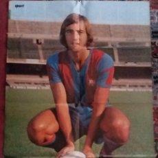 Coleccionismo deportivo: SUPERPOSTER NEESKENS ( 100 X 65 CM.) FC. BARCELONA - CON BIOGRAFIA COMPLETA - SPORT- . Lote 189436147