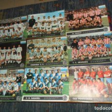 Coleccionismo deportivo: TELE EXPRES 64 67 PONTEVEDRA SABADELL EUROPA GRANADA CÓRDOBA VALENCIA (2) ATH BILBAO ELCHE BARCELONA. Lote 190116528