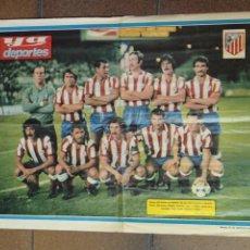 Coleccionismo deportivo: POSTER YA CARTEL CLUB ATLÉTICO DE MADRID. 1979. MEDIDAS: 58X 44CM. Lote 190155025