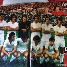 Coleccionismo deportivo: POSTERS REVISTA AS COLOR 13. Lote 190794333