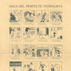 Coleccionismo deportivo: AUCA DEL PERFECTE FUTBOLISTA – 20 QUADRES – IL·LUSTRADOR CASTANY. Lote 191503091