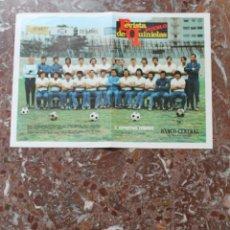 Coleccionismo deportivo: POSTER REVISTA PUEBLO. FUTBOL TEMPORADA 1973-1974. GRAN FORMATO 33 X 46 CM..C. DEPORTIVO TENERIFE.. Lote 191938456