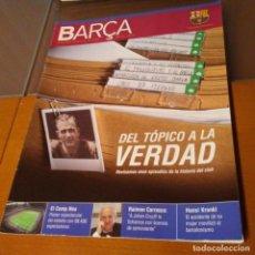 Coleccionismo deportivo: REVISTA OFICIAL FC BARCELONA CON PÓSTER N°20. AÑO 2006. Lote 192887776