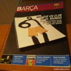 Coleccionismo deportivo: REVISTA OFICIAL FC BARCELONA CON PÓSTER N°23. AÑO 2006. Lote 192888062