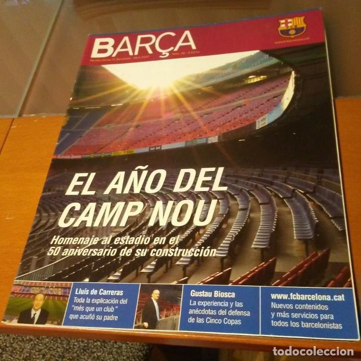 REVISTA OFICIAL FC BARCELONA CON PÓSTER N°26. AÑO 2007 (Coleccionismo Deportivo - Carteles de Fútbol)