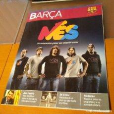 Coleccionismo deportivo: REVISTA OFICIAL FC BARCELONA CON PÓSTERN°36. AÑO 2008. Lote 192889283