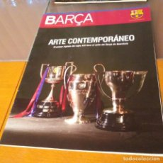 Coleccionismo deportivo: REVISTA OFICIAL FC BARCELONA CON PÓSTER N°39. AÑO 2009. Lote 192889813