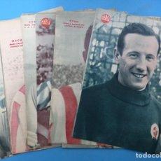 Coleccionismo deportivo: 17 CARTELES PERIODICO MARCA - AÑOS 1940, VER FOTOS ADICONALES. Lote 193251553