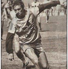 Coleccionismo deportivo: QUINI: RECORTE SUYO ENTRENANDO. Lote 194201396
