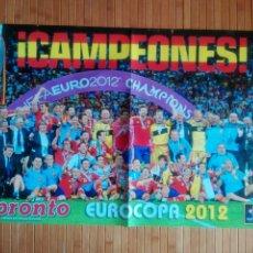 Coleccionismo deportivo: PÓSTER PRONTO CAMPEONES EUROCOPA 2012. Lote 194204628