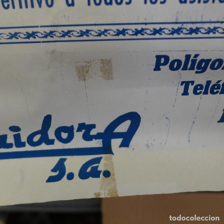 Coleccionismo deportivo: CARTEL DE FUTBOL - I TROFEO DE HOSTELERIA ROTA - Foto 7 - 194227941