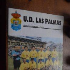 Coleccionismo deportivo: U. D. LAS PALMAS 1991, CORTESIA DE CEPSA. Lote 194379685