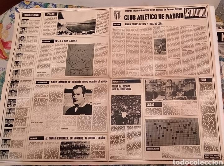 Coleccionismo deportivo: Pòster Atlético de Madrid. 1969 - Foto 2 - 194522783