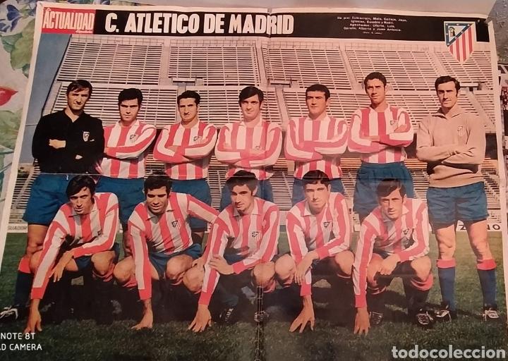 PÒSTER ATLÉTICO DE MADRID. 1969 (Coleccionismo Deportivo - Carteles de Fútbol)