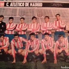 Coleccionismo deportivo: PÒSTER ATLÉTICO DE MADRID. 1969. Lote 194522783
