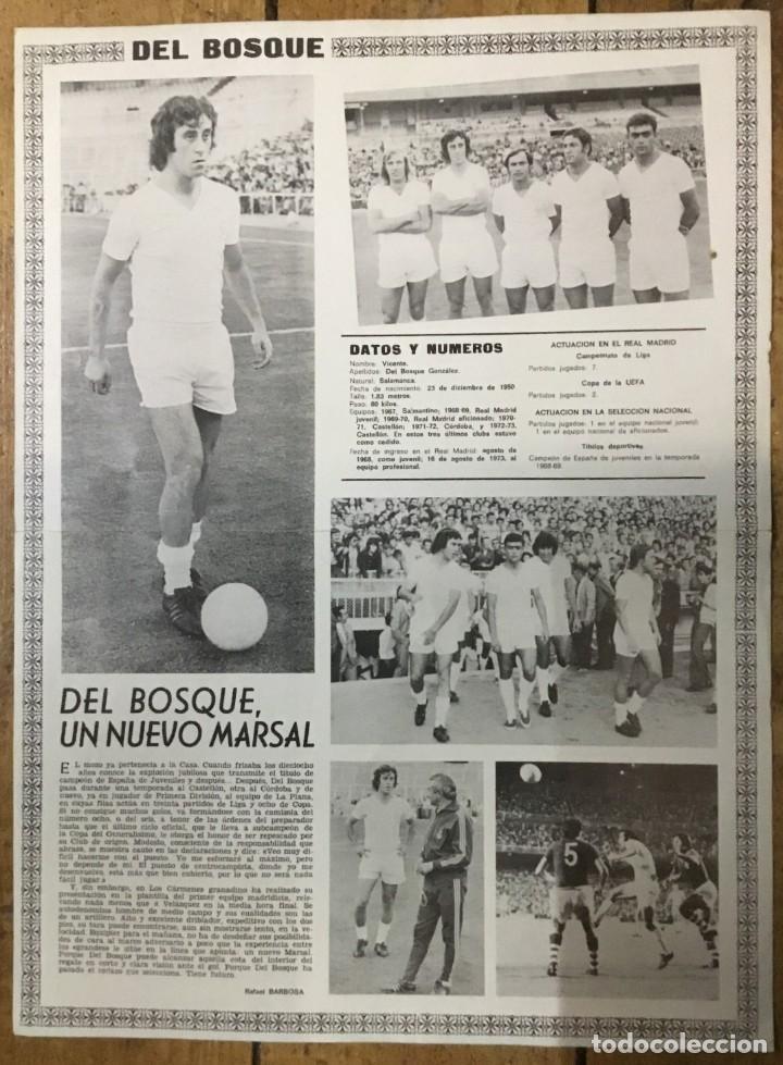 Coleccionismo deportivo: Póster Real Madrid - Vicente del Bosque - Publicidad Philips - DIN A3 - Foto 2 - 194932310