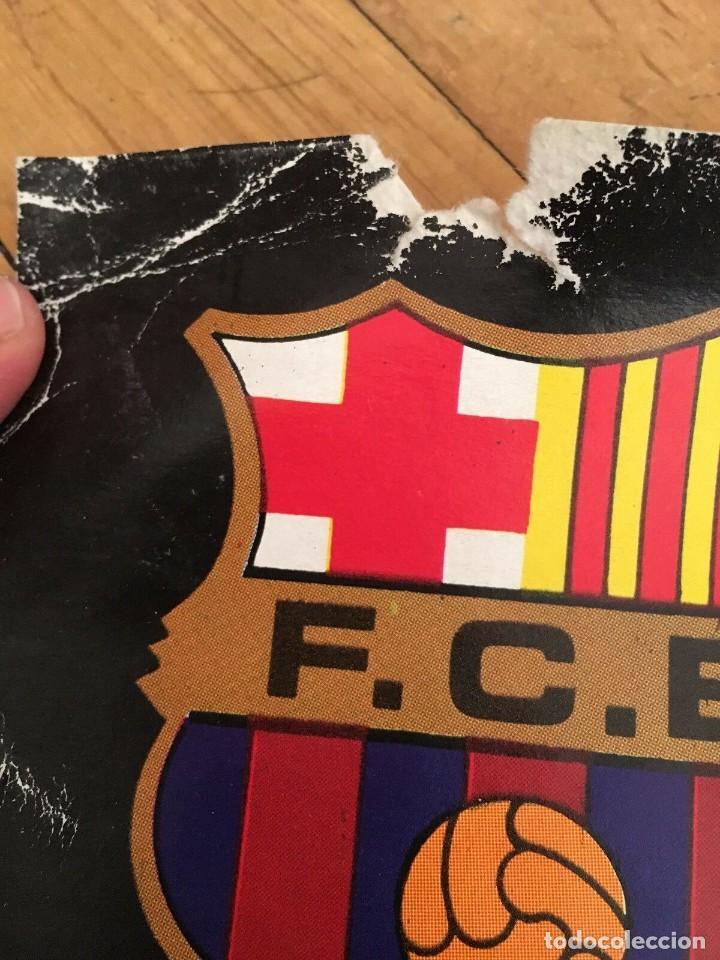 Coleccionismo deportivo: CARTEL POSTER OFICIAL ORIGINAL FINAL UEFA SUPERCOPA BARCELONA NOTTINGHAM FOREST 1979 1980 NOU CAMP - Foto 5 - 195343222