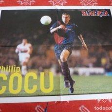 Coleccionismo deportivo: (LLL)POSTER (44 X 58 CM) F.C.BARCELONA COCU (BARÇA). Lote 195977236
