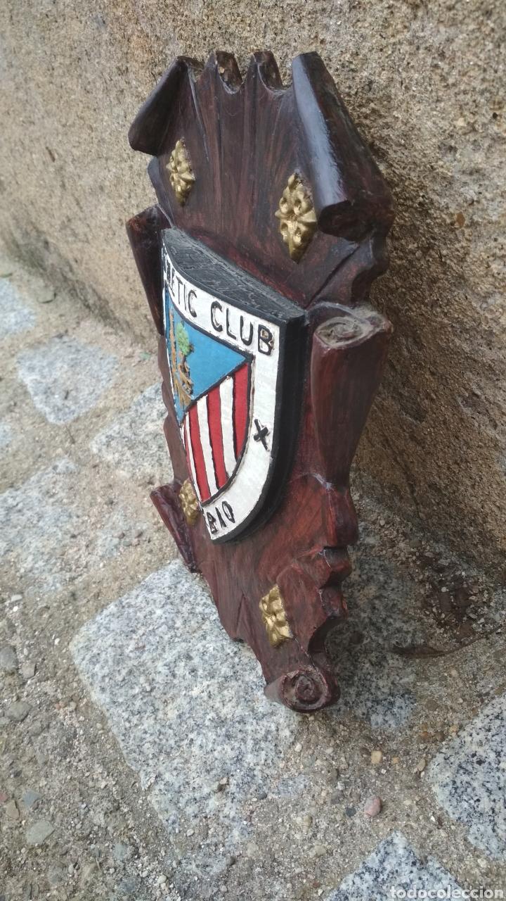 Coleccionismo deportivo: Escudo del Athetic de Bilbao. - Foto 2 - 196008387