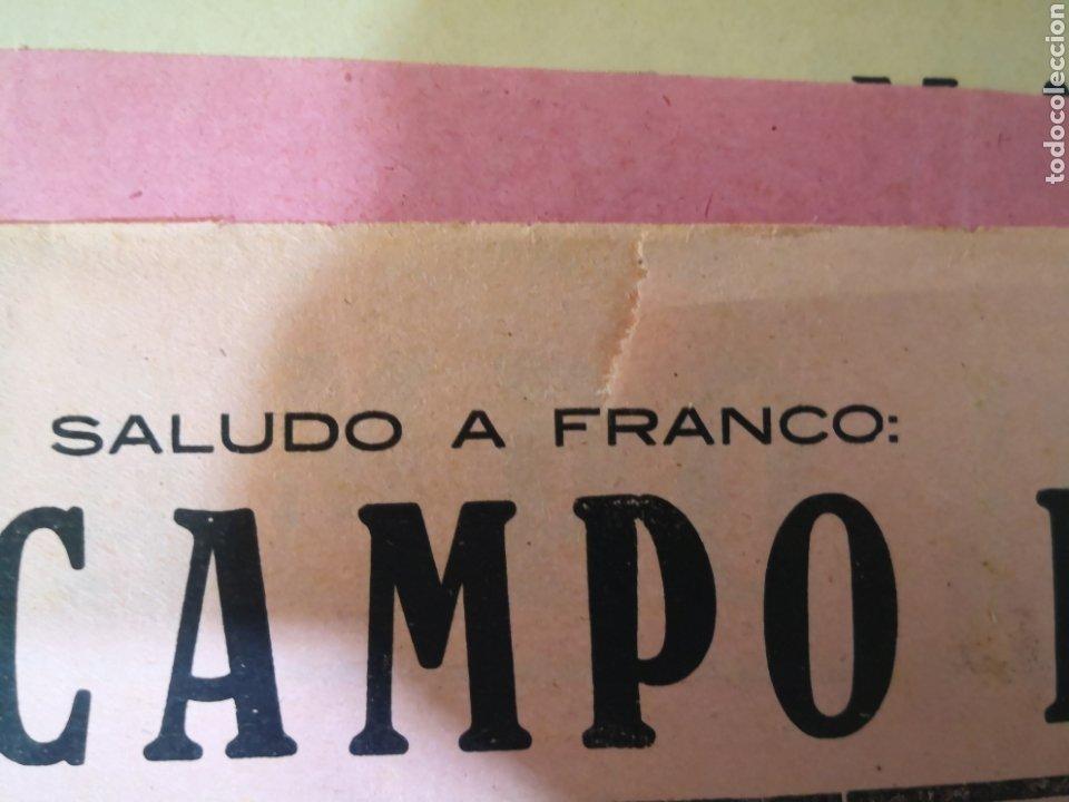 Coleccionismo deportivo: Antiguo Cartel de Futbol Años 30 - Deportivo de la Coruña - Eiriña, Copa Ejército - Foto 3 - 194732401
