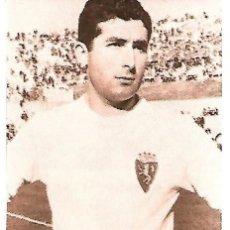Coleccionismo deportivo: REAL ZARAGOZA: RECORTE DE ISASI. Lote 199043718