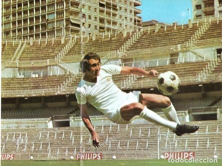 REAL MADRID: PÓSTER DE PIRRI (Coleccionismo Deportivo - Carteles de Fútbol)