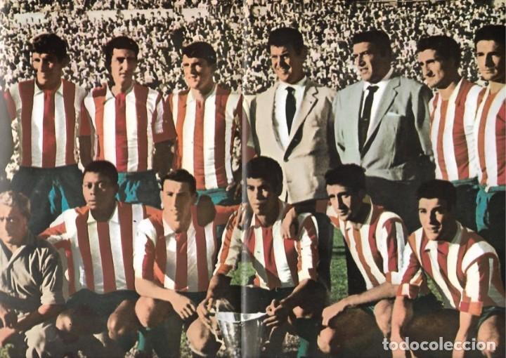 ATLÉTICO DE MADRID: PÓSTER DE UN EQUIPO DE 1962 (Coleccionismo Deportivo - Carteles de Fútbol)
