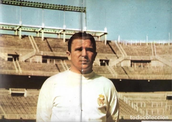 REAL MADRID: PÓSTER DE PUSKAS (Coleccionismo Deportivo - Carteles de Fútbol)