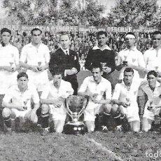 Coleccionismo deportivo: SEVILLA CF: RECORTE DE UN EQUIPO DE LA TEMPORADA 45-46, CAMPEONES DE LIGA. Lote 199347341