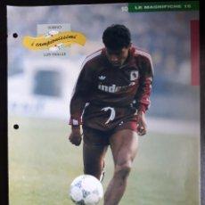 Coleccionismo deportivo: COVER TORINO CALCIO 1991 LUIS MULLER BRASIL CAMPIONI & CAMPIONATO 90 91 MINI POSTER. Lote 199391068
