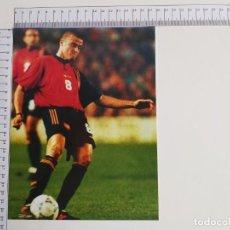Coleccionismo deportivo: LAMINA DEL COLECCIONABLE LAS ESTRELLAS DEL MUNDIAL 98 FUTBOL LUIS ENRIQUE(ESPAÑA). Lote 199423406