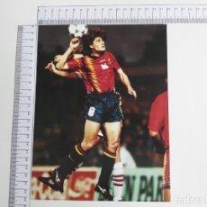 Coleccionismo deportivo: LAMINA DEL COLECCIONABLE LAS ESTRELLAS DEL MUNDIAL 98 FUTBOL GUERRERO(ESPAÑA). Lote 199423476