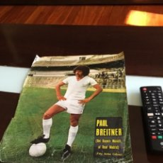 Coleccionismo deportivo: CARTEL POSTER PAUL BREITNER REAL MADRID. Lote 199702546