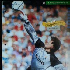 Coleccionismo deportivo: COVER INTER CALCIO 1991 WALTER ZENGA ITALIA CAMPIONI & CAMPIONATO 90 91 MINI POSTER. Lote 199709611