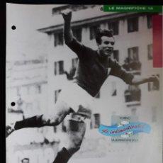 Coleccionismo deportivo: COVER TORINO CALCIO 1991 VALENTINO MAZZOLA ITALIA CAMPIONI & CAMPIONATO 90 91 MINI POSTER. Lote 199721520