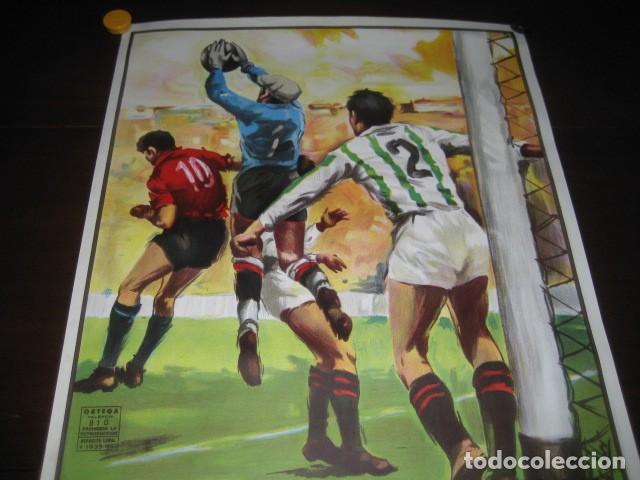 Coleccionismo deportivo: POSTER CARTEL FUTBOL FINAL COPA DEL REY 1986 BARCELONA - REAL ZARAGOZA. ESTADIO VICENTE CALDERON - Foto 2 - 199884115