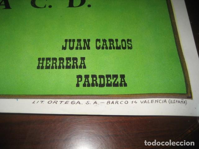 Coleccionismo deportivo: POSTER CARTEL FUTBOL FINAL COPA DEL REY 1986 BARCELONA - REAL ZARAGOZA. ESTADIO VICENTE CALDERON - Foto 7 - 199884115
